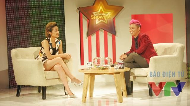 Chính vì thế, Thanh Duy rất hào hứng chia sẻ cùng MC Phí Linh.
