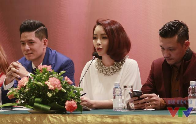Diễn viên Bình Minh - Mai Thu Huyền - đạo diễn Khải Anh.