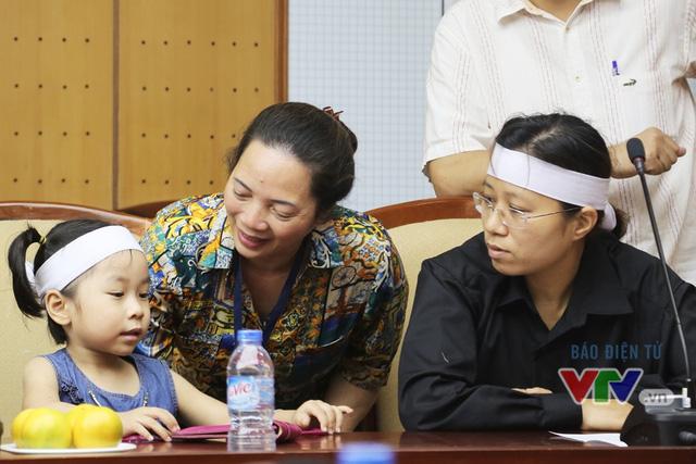 Con gái phi công Trần Quang Khải cũng có mặt tại buổi gặp gỡ