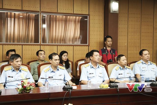 Các đồng chí đến từ Quân chủng Phòng không - Không quân, Bộ Quốc phòng