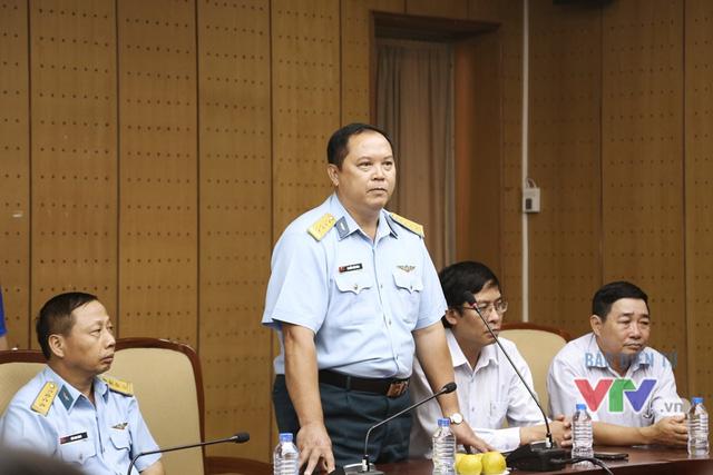 Đại tá Bùi Cao Lãnh - Đại diện Quân chủng Phòng không - Không quân, Bộ Quốc phòng chia sẻ