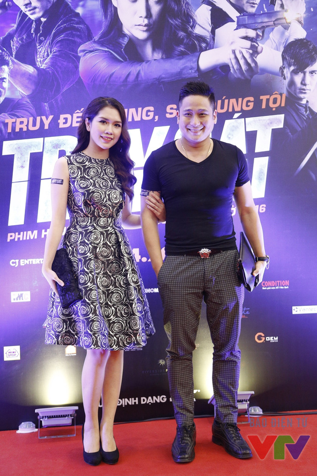 Diễn viên Minh Tiệp và vợ