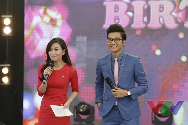 Hai MC Thanh Huyền và Công Tố