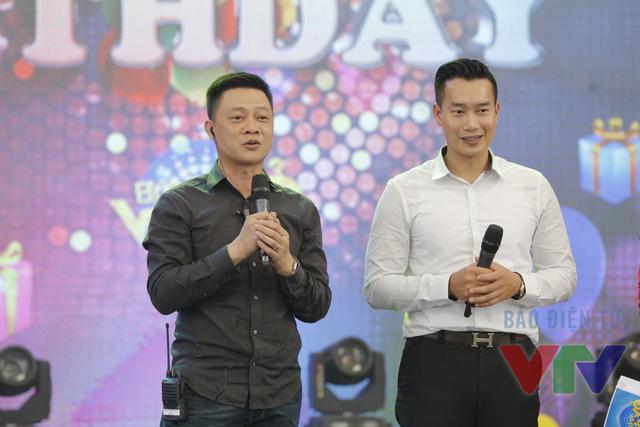 Hai bếp trưởng Hoa Thanh Tùng và Quang Minh