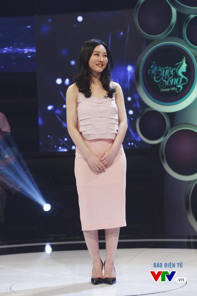 Cô đã thay đổi rất nhiều sau khi trở về từ Hàn Quốc