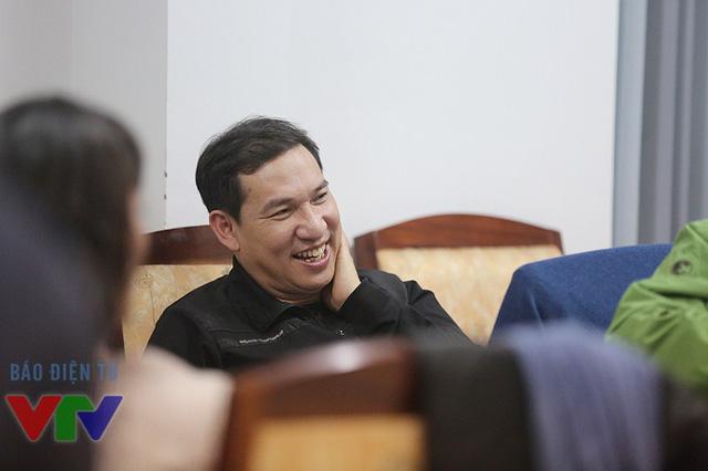 Anh tỏ ra khá thích thú trước phần thoại giữa Nam Tào Xuân Bắc và Táo Vân Dung.