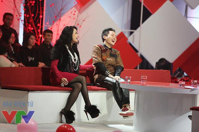 Ca sĩ Thanh Lam và ca sĩ Tùng Dương.