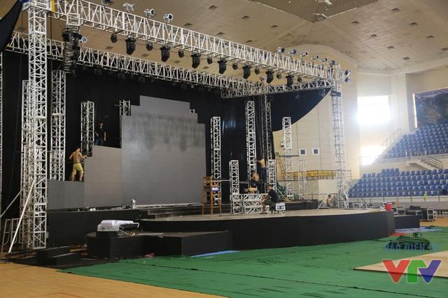 Sân khấu của vòng chung kết cuộc thi