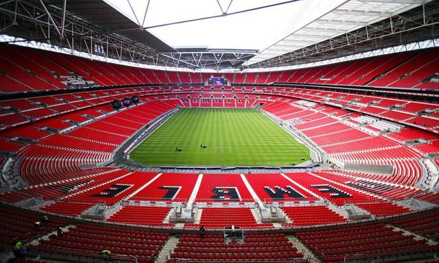 Sân Wembley sẽ là một trong những SVĐ tổ chức EURO 2020. Ảnh: Getty