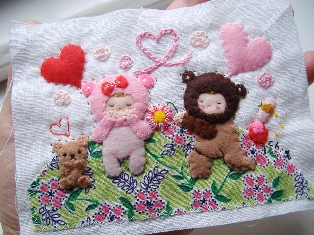 Một món quà ý nghĩa được tặng trong ngày White Valentine. Ảnh: Chigu handmade.