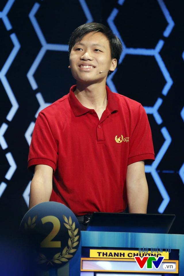 Đại diện của Huế là Hồ Đắc Thanh Chương - học sinh của trường THPT Quốc học Huế.