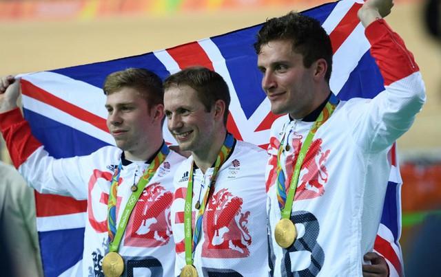 ĐT xe đạp vương quốc Anh xuất sắc giành HCV và phá kỉ lục Olympic
