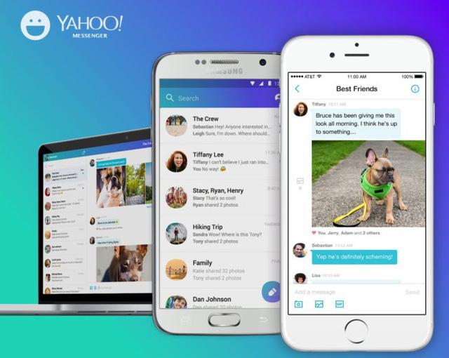 Yahoo! Messenger đã phát triển trên nhiều nền tảng