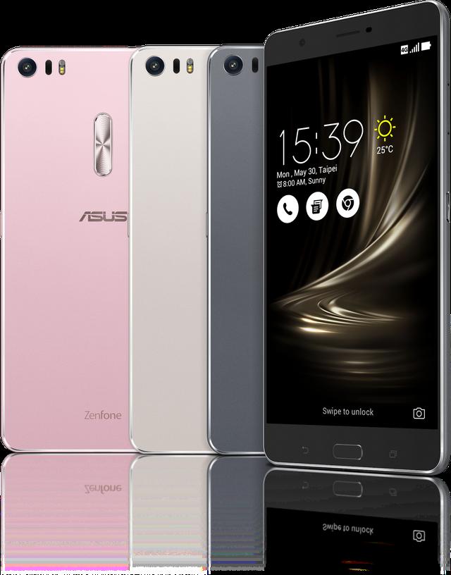 Mẫu smartphone ZenFone 3 Ultra với màn hình khủng 6.8 inch