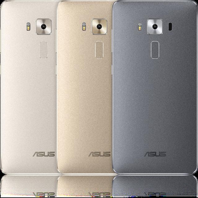 Quái vật hiệu suất Zenfone 3 Deluxe sẽ có 3 màu: xám, bác và vàng