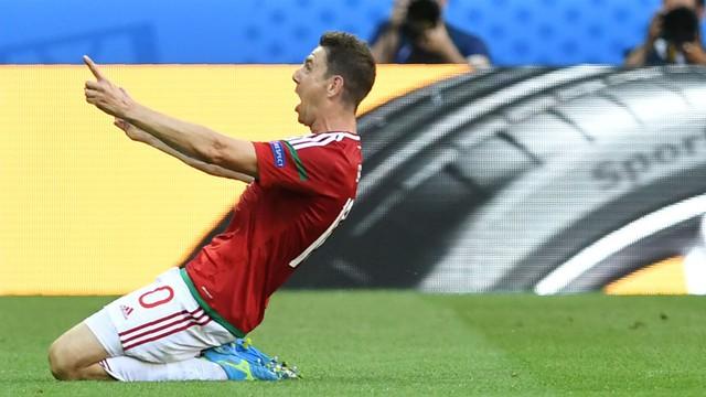 Gera của ĐT Hungary là cầu thủ lớn tuổi nhất ghi bàn tại EURO 2016. Ảnh: UEFA