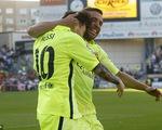 Messi giật vương miện khỏi A.Madrid, Barcelona đăng quang sớm 1 vòng đấu