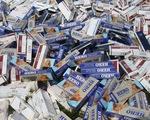 Gần 9.700 vụ buôn lậu thuốc lá lậu bị bắt giữ
