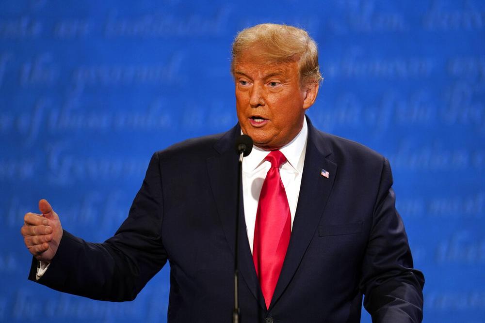 Tranh luận bầu cử Tổng thống Mỹ: Ông Trump nói vì những người như ông Joe Biden nên mới ra tranh cử - Ảnh 5.