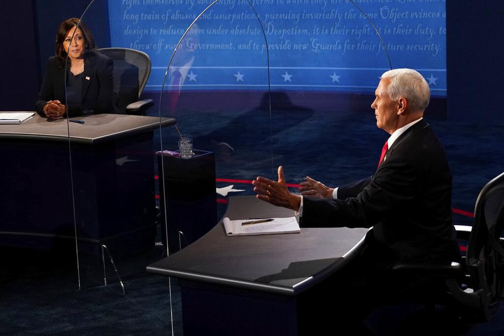 Tranh luận ứng viên Phó Tổng thống: Bớt hỗn loạn nhưng vẫn nhiều điểm nóng - Ảnh 4.