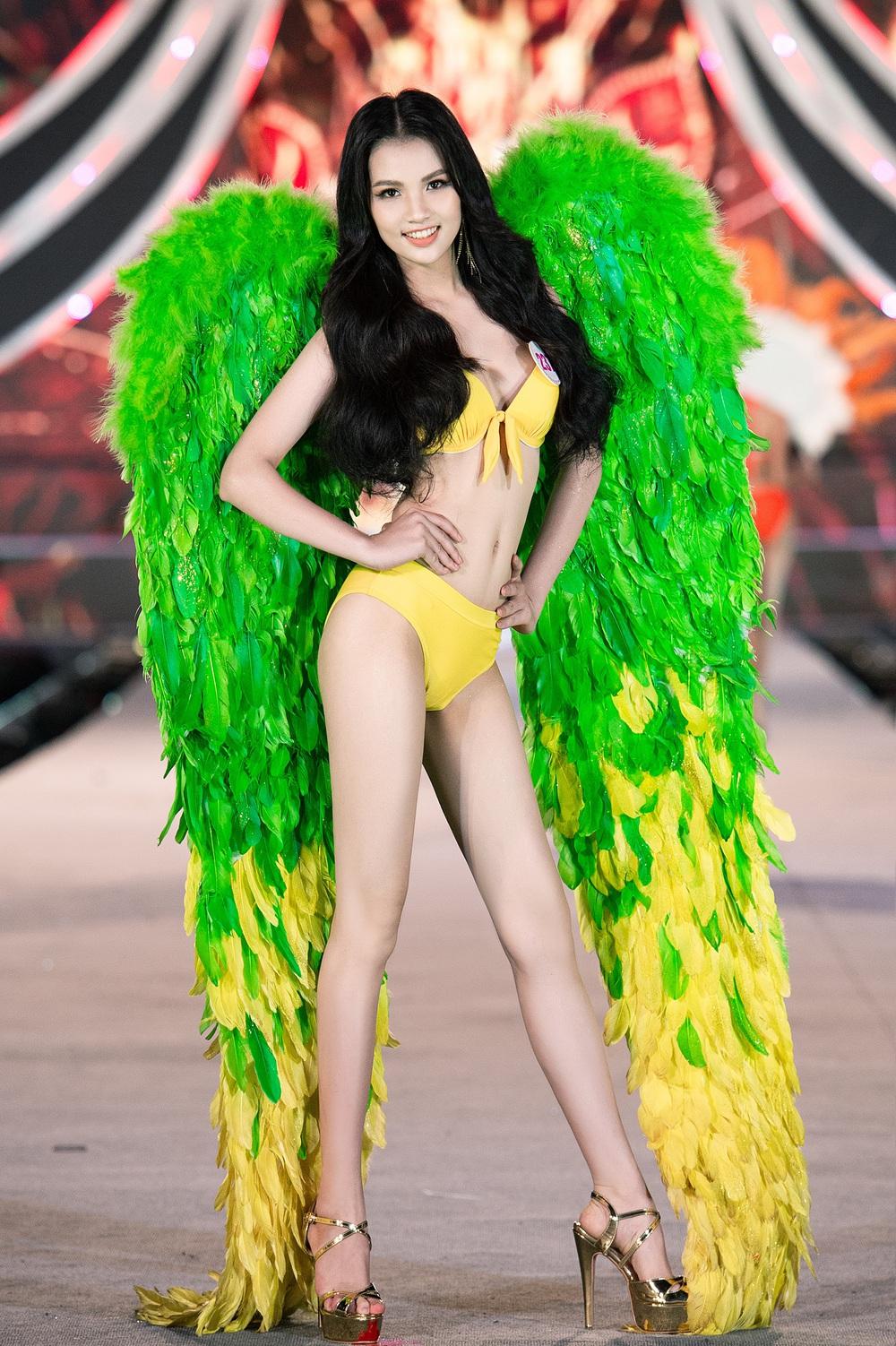 Thí sinh Hoa hậu Việt Nam 2020 trình diễn bikini bốc lửa - Ảnh 16.