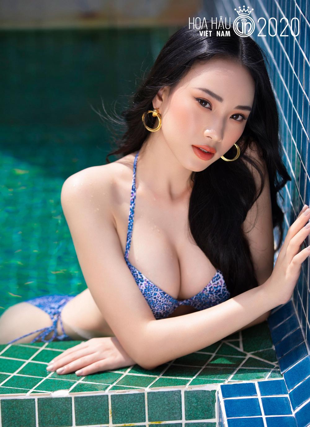 Trọn bộ ảnh bikini trước thềm Chung kết Hoa hậu Việt Nam 2020 - Ảnh 18.