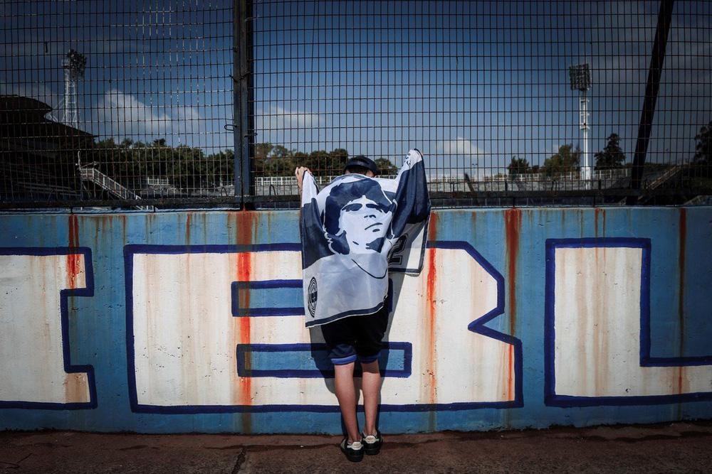 Khắp nơi trên thế giới tưởng niệm Diego Maradona - Ảnh 13.