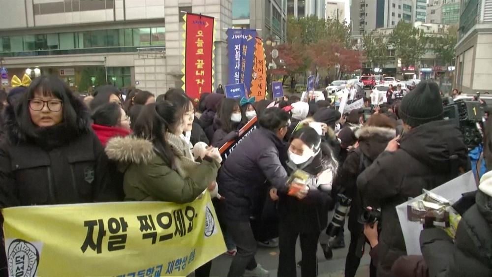 Kỳ thi Đại học rất khác lạ vì COVID-19 tại Hàn Quốc - Ảnh 16.