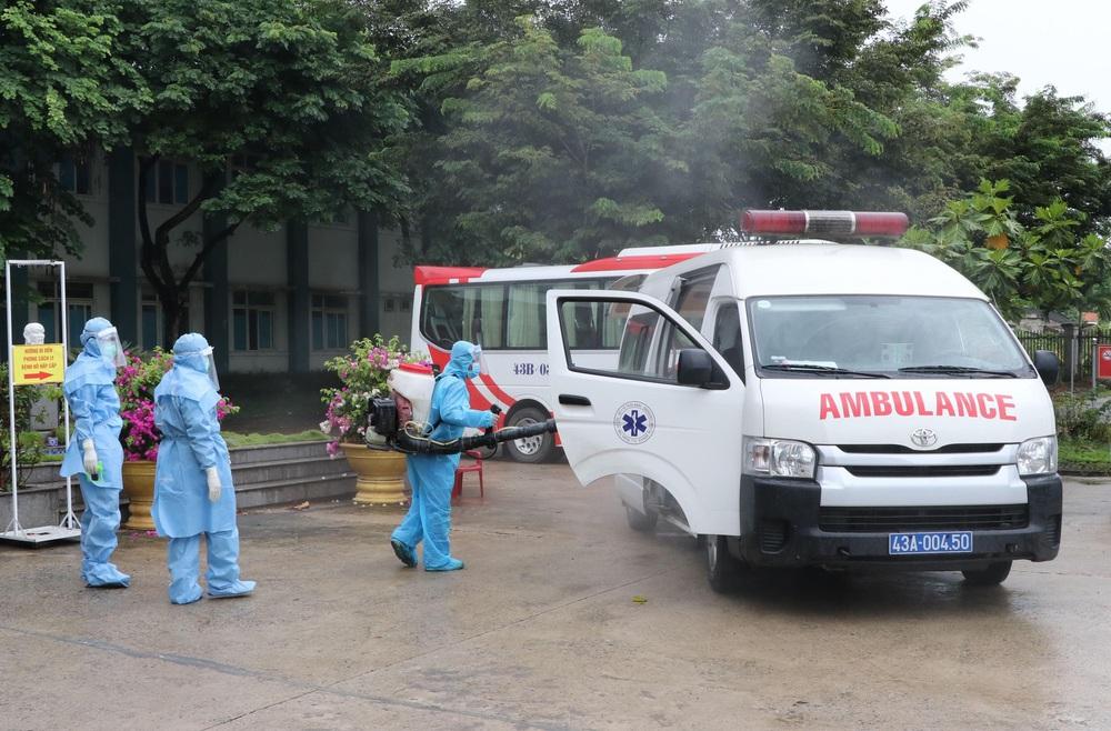 Bệnh viện dã chiến đầu tiên tại Đà Nẵng sẵn sàng tiếp nhận bệnh nhân COVID-19 - Ảnh 3.