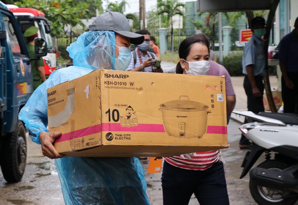 Bệnh viện dã chiến đầu tiên tại Đà Nẵng sẵn sàng tiếp nhận bệnh nhân COVID-19 - Ảnh 8.