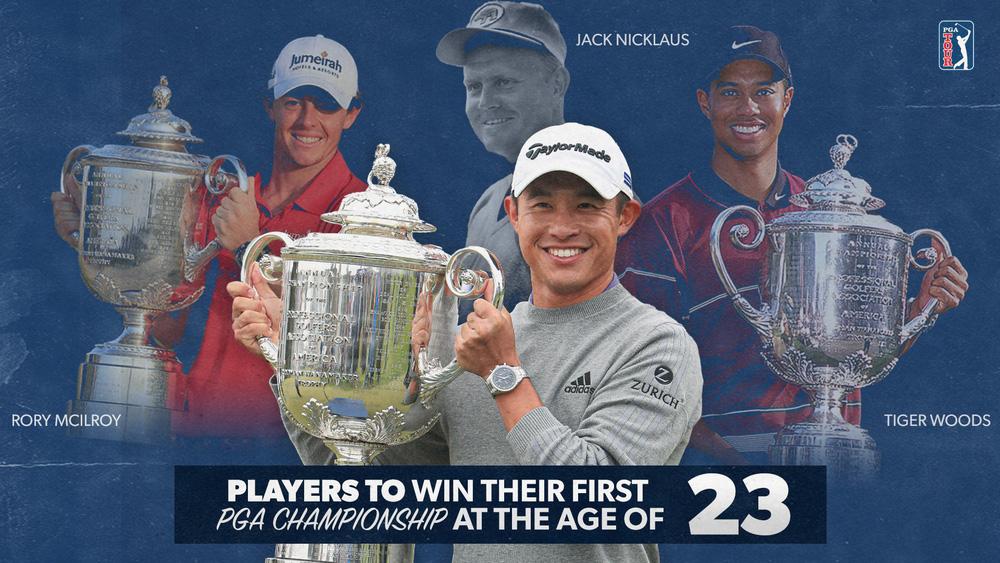 Collin Morikawa – nhà vô địch PGA Championship 2020: Chơi golf từ thuở lên 5, đi vào lịch sử tuổi 23! - Ảnh 1.