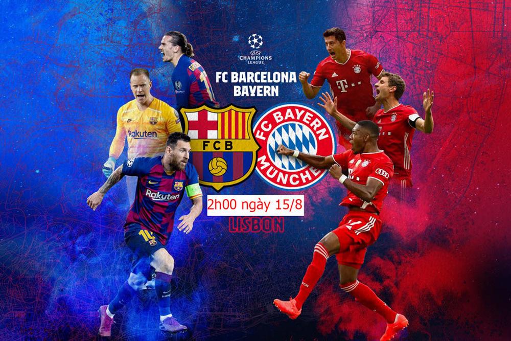 Barca vs Bayern: Lewandowski, Messi… và cuộc đôi công đáng chờ đợi (2h00 ngày 15/8, Tứ kết Champions League) - Ảnh 2.