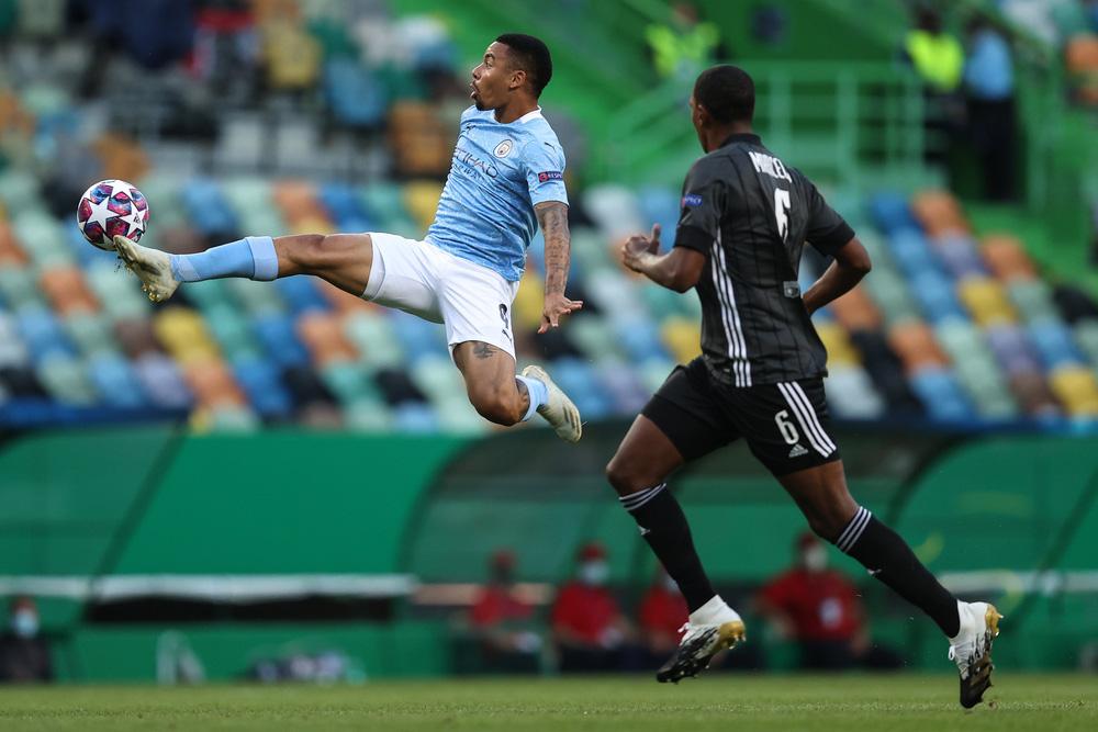 Man City gục ngã trước Lyon tại tứ kết Champions League - Ảnh 1.