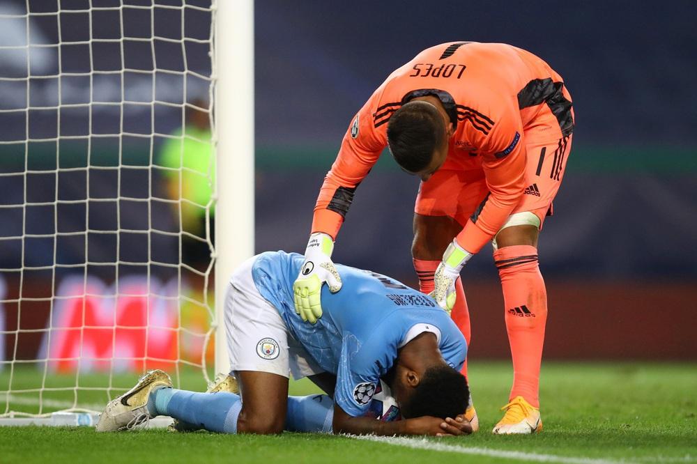 Man City gục ngã trước Lyon tại tứ kết Champions League - Ảnh 17.