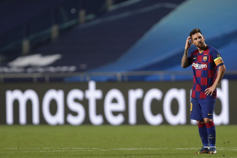 Nếu rời Barca, Messi sẽ đến đâu: Man City, PSG hay Inter Milan, Real Madrid?! - Ảnh 1.