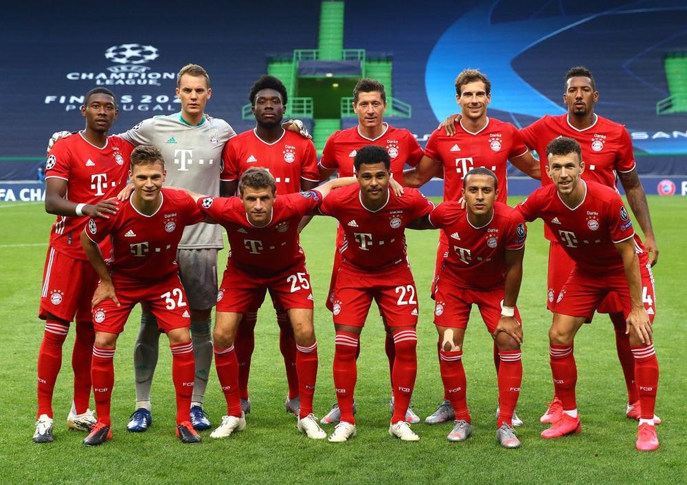 ẢNH: Gnabry rực sáng, Bayern Munich thắng thuyết phục Lyon ở bán kết Champions League - Ảnh 1.