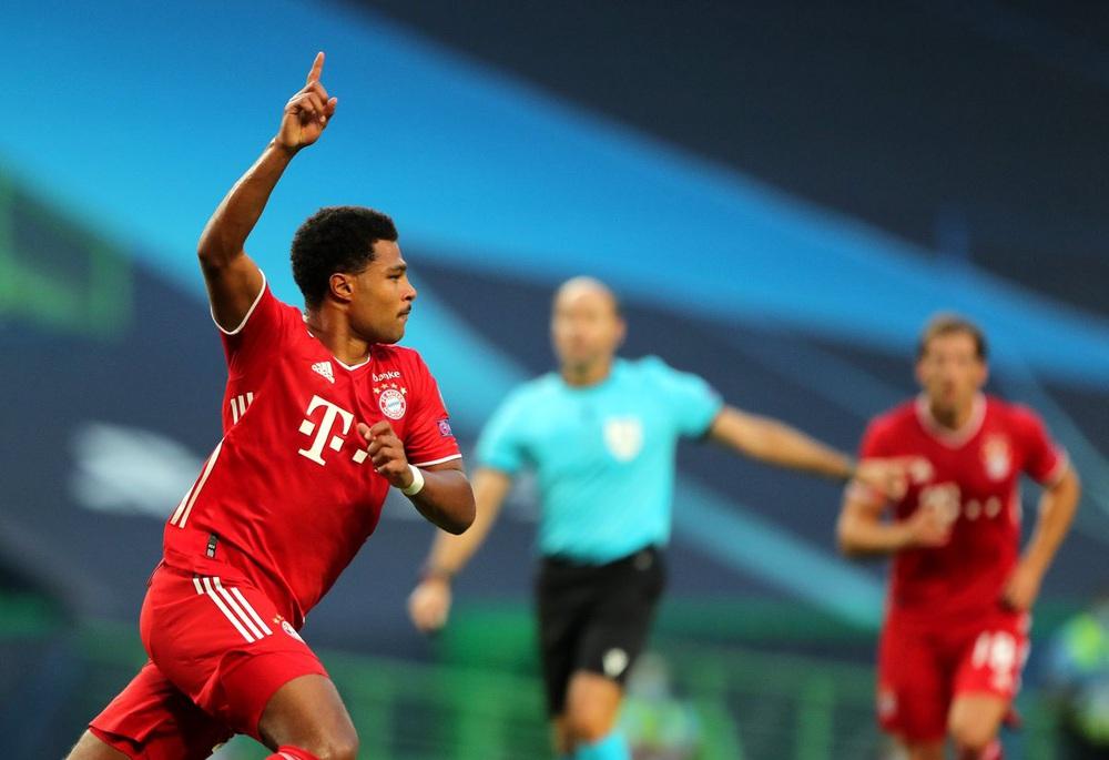 ẢNH: Gnabry rực sáng, Bayern Munich thắng thuyết phục Lyon ở bán kết Champions League - Ảnh 9.