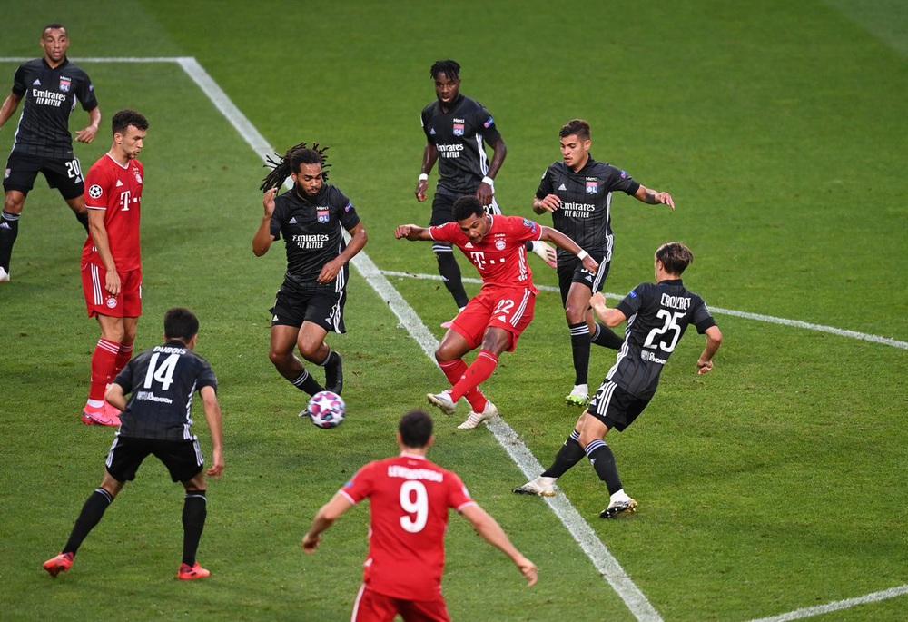 ẢNH: Gnabry rực sáng, Bayern Munich thắng thuyết phục Lyon ở bán kết Champions League - Ảnh 6.