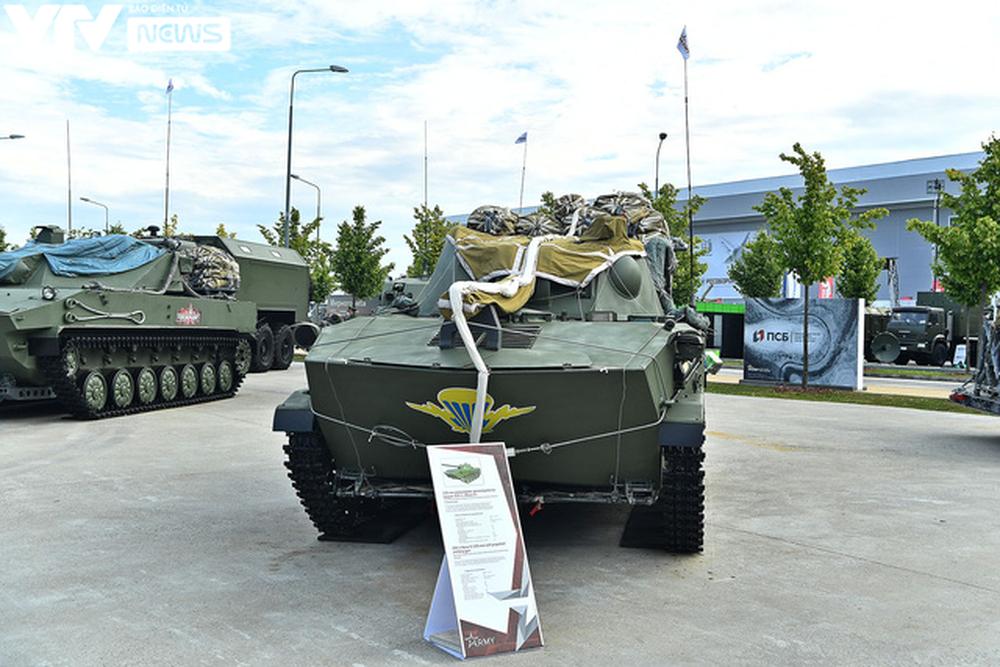 Ngắm dàn vũ khí tối tân bên lề Army Games 2020 ở Nga - Ảnh 2.