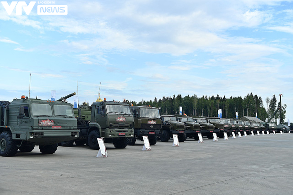 Ngắm dàn vũ khí tối tân bên lề Army Games 2020 ở Nga - Ảnh 32.