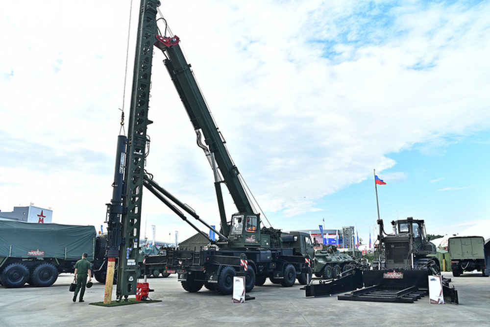 Ngắm dàn vũ khí tối tân bên lề Army Games 2020 ở Nga - Ảnh 35.