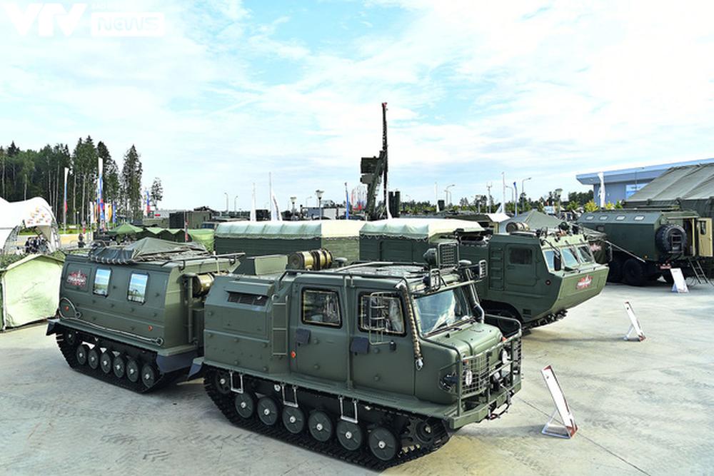 Ngắm dàn vũ khí tối tân bên lề Army Games 2020 ở Nga - Ảnh 33.
