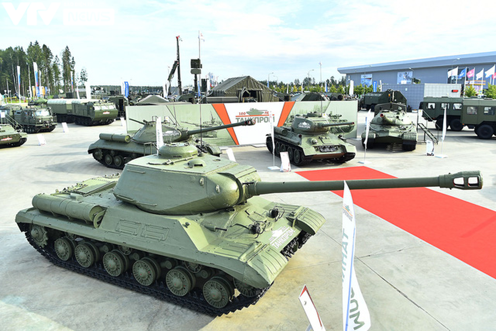 Ngắm dàn vũ khí tối tân bên lề Army Games 2020 ở Nga - Ảnh 28.