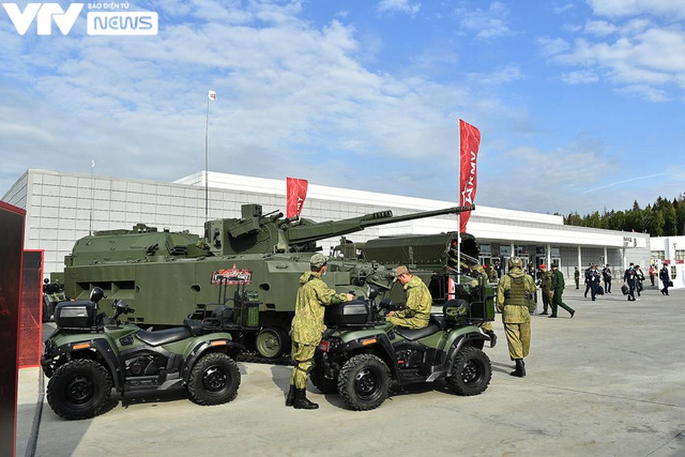 Ngắm dàn vũ khí tối tân bên lề Army Games 2020 ở Nga - Ảnh 3.