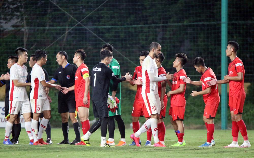 U22 Việt Nam hoà 2-2 CLB Viettel trong trận đấu tập cuối cùng - Ảnh 7.