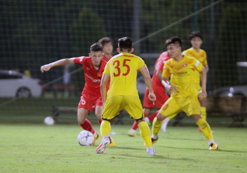 U22 Việt Nam hoà 2-2 CLB Viettel trong trận đấu tập cuối cùng - Ảnh 6.