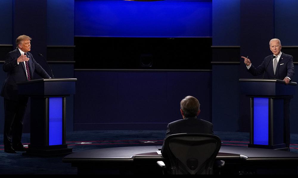 Tranh luận Trump - Biden hỗn loạn vì công kích, thiếu thông điệp xuyên suốt - Ảnh 2.