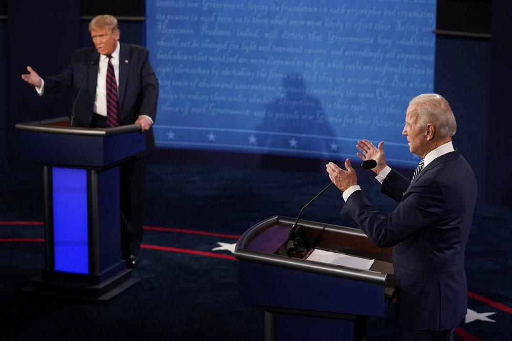 Tranh luận Trump - Biden hỗn loạn vì công kích, thiếu thông điệp xuyên suốt - Ảnh 10.