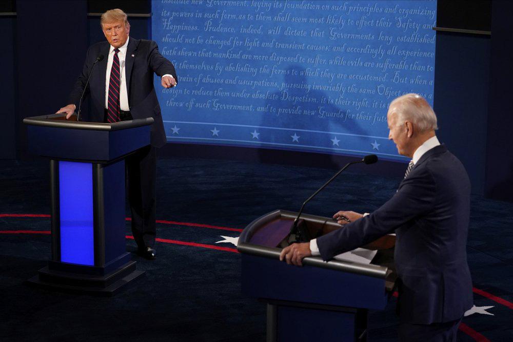 Tranh luận Trump - Biden hỗn loạn vì công kích, thiếu thông điệp xuyên suốt - Ảnh 11.