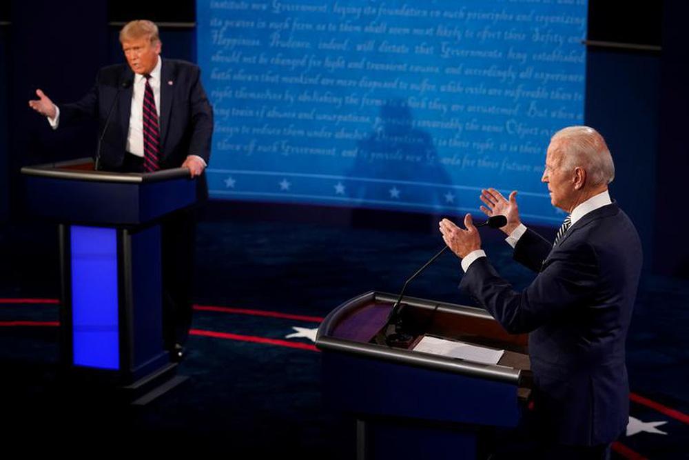 Phố Wall thích Trump hay Biden thắng cử Tổng thống Mỹ? - Ảnh 1.